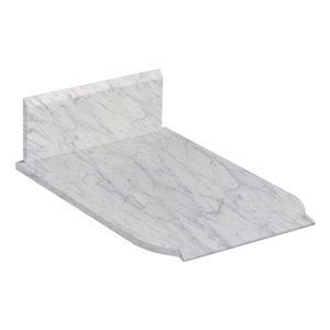 13.25-in Antique Marble Vanity Top