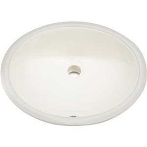 "American Imaginations CUPC Certified Undermount Sink - 19.5"" x 5"" - Beige"