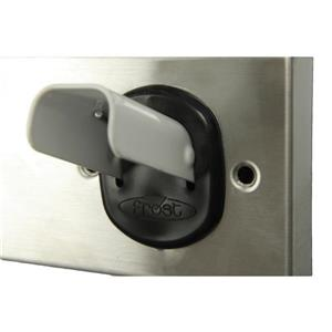 Frost Collapsable Coat Hook Strip - White