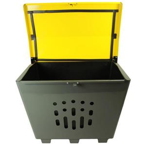 Frost Large Exterior Container - Yellow - 8.25 cu.ft.