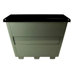 Frost Large Exterior Container - Black - 8.25 cu.ft.
