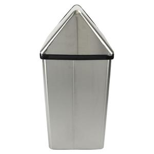 Frost Swing Top Waste Receptacle - Stainless Steel