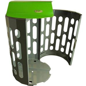 Frost Stingray Waste Receptacle - Green