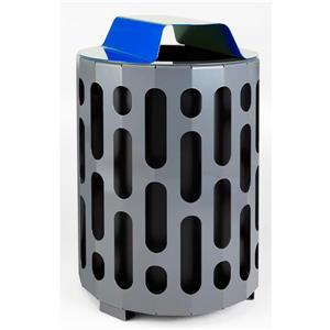 Frost Stingray Waste Receptacle - Blue