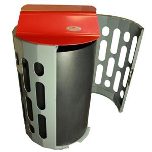 Frost Stingray Waste Receptacle - Red