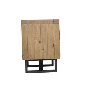 "CDI Furniture Praire Nightstand - 24"" x 26"" - Wood - Natural"