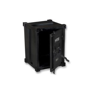 """CDI Furniture Container Nightstand - 18"""" x 24"""" - Wood - Black"""