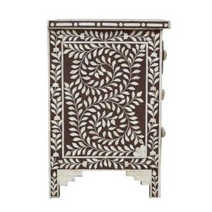 "CDI Furniture Aida Nightstand - 16"" x 24"" - Wood - Brown"