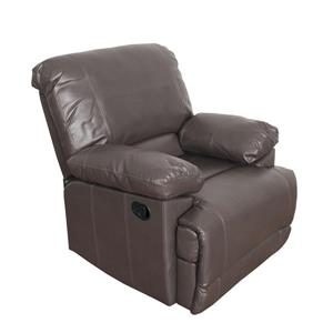 CorLiving Bonded Leather Reclining Sofa Set - Brown