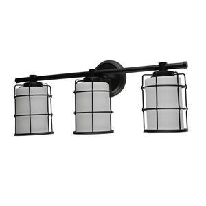 BELDI Albany Wall Light - 3 Lights - Black