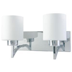 """BELDI Markam Chandelier - 2 Lights - 8.7"""" - White"""