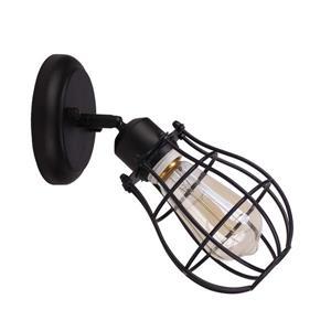 "BELDI Lancy Chandelier - 1 Lights - 8"" - Black"