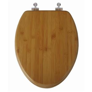 Topseat Toilet Seat - Elongated - Nature Bamboo