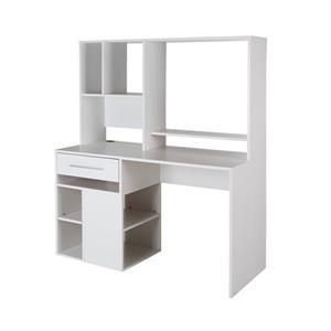 South Shore Furniture Annexe Computer Desk - 47.75-in x 22.5-in x 58.5-in - White