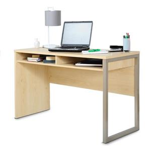 South Shore Furniture Interface Desk - 47.4-in x 19.41-in x 29.5-in - Natural Maple
