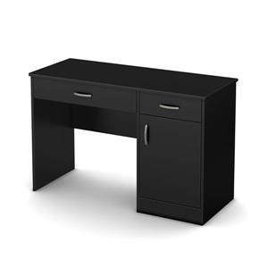 South Shore Furniture Axess Desk - 43.75-in x 19-in x 30-in - Black