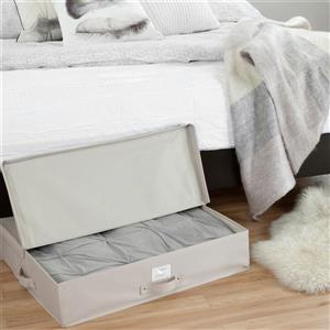 South Shore Furniture Storit Canvas Underbed Storage Box - Beige