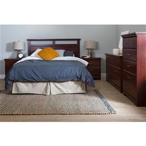 South Shore Furniture Versa 2-Drawer Nightstand - Royal Cherry