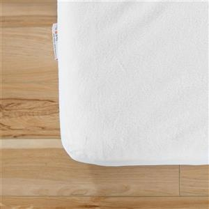 South Shore Furniture Somea Basic Mattress with Mattress Cover - 44.25-in x 78-in x 8-in