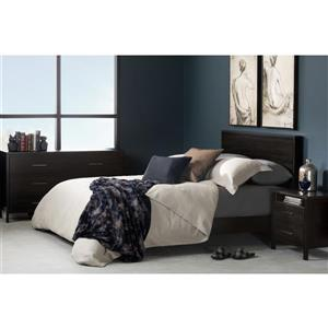 South Shore Furniture Gravity Headboard - Queen - Ebony
