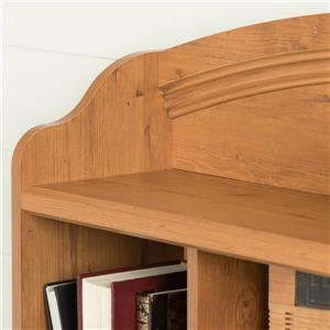 South Shore Furniture Prairie Bookcase Headboard - Twin - Country Pine