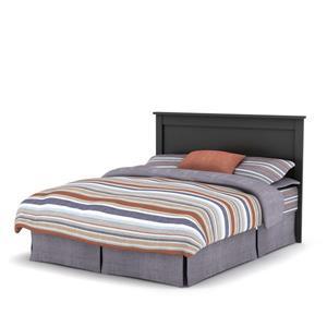 South Shore Furniture Vito Headboard - Full/Queen - Black