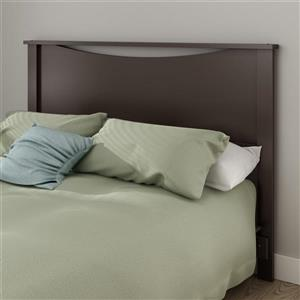 South Shore Furniture Step One Headboard - Full/Queen - Chocolate