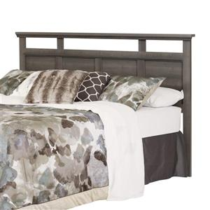 South Shore Furniture Versa Headboard - King - Gray Maple