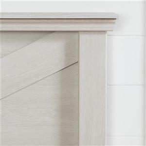 South Shore Furniture Avilla Headboard - Full/Queen - Winter Oak