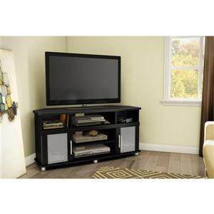 South Shore Furniture City Life TV Stand - 47.25-in x 19.25-in x 22.5-in - Black