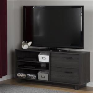 South Shore Furniture Fynn TV Stand - 47.5-in x 16.5-in x 22.25-in - Gray