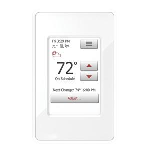 WarmlyYours nSpire WiFi and Touch Thermostat Programmable with Sensor