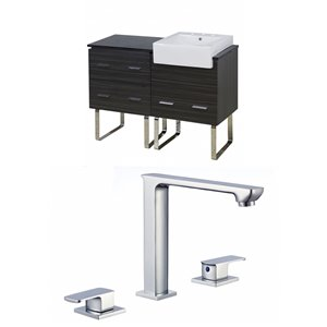 Xena Farmhouse 48-in Floor Mount Vanity Set For 3H8-in Drilling