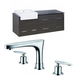 48-in Xena Farmhouse Wall Mount Vanity Set For 3H8-in Drilling
