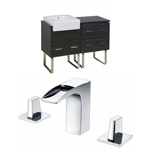 48-in Xena Farmhouse Floor Mount Vanity Set For 3H8-in Drilling