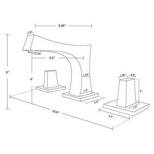 """American Imaginations Vee Vanity Set  - Single Sink - 61.75"""" - Brown"""