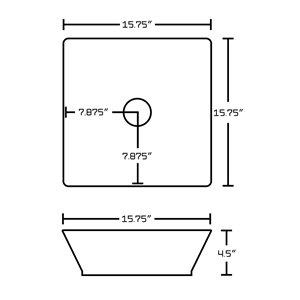 "American Imaginations Xena Quartz Vanity Set  - Single Sink - 60"" - White"
