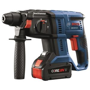 "Bosch SDS-plus® Rotary Hammer - 18 V - 3/4"""