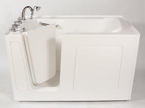 Aquam Spas Walk-in Tub - 60-in x 30-in - White