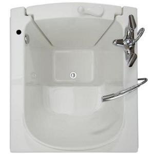 Aquam Spas Walk-in Left Hand Tub - 38-in x 33-in - White
