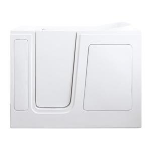 Aquam Spas Walk-in Left Hand Tub - 48-in x 28-in - White
