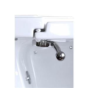 Aquam Spas Walk-in Left Hand Tub - 55-in x 35-in - White
