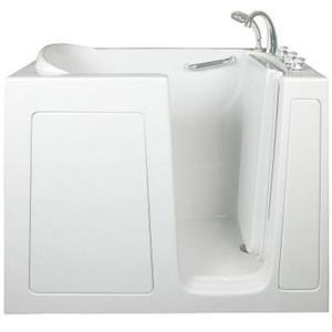 Aquam Spas Walk-in Right Hand Tub - 48-in - White