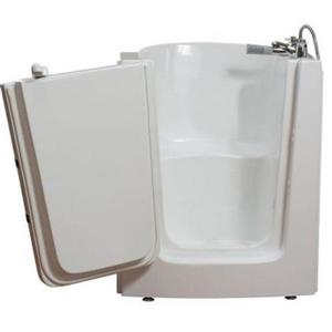 Aquam Spas Walk-in Right Hand Tub - 38-in x 33-in - White