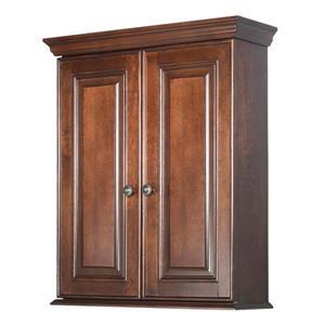 """Foremost Hawthorne Wall Cabinet - 27.5"""" x 23.5"""" - Wood - Walnut"""