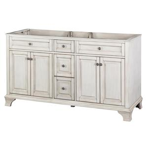 "Foremost Corsicana Vanity Combo - 60"" x 34.75"" - Granite - Black"