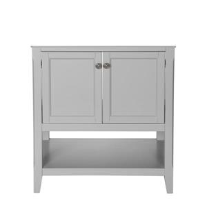 "Foremost Auguste Vanity Combo - 31"" x 34.75"" - White"