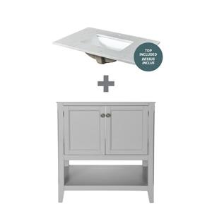 """Foremost Auguste Vanity Combo - 31"""" -  Gray"""