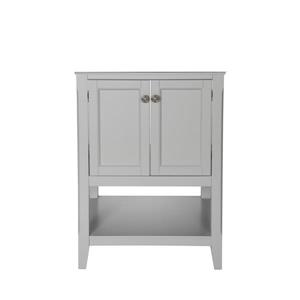 "Foremost Auguste Vanity Combo - 25"" x 34.75"" - Gray"