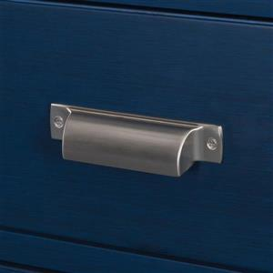 """Foremost Cherie Vanity Combo - 24"""" x 35"""" - MDF - Blue"""